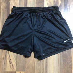 Nike size Large Black Stripe Workout Shorts